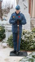 Standing Vigil at the Hanover Cenotaph